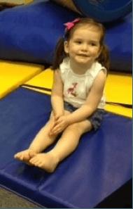 child long sitting